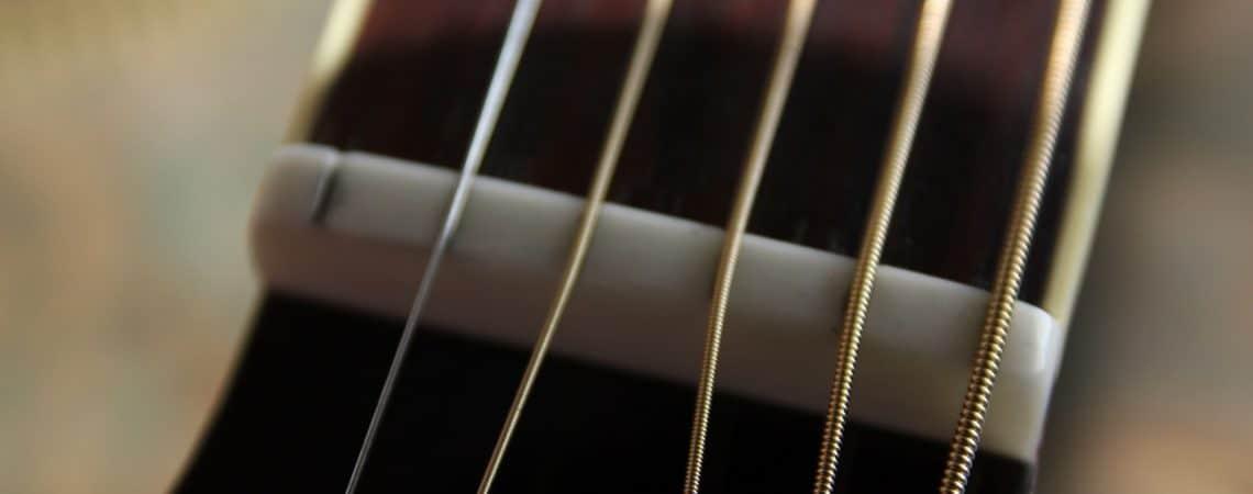 réglage guitare