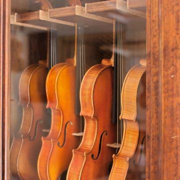 Guide de taille pour les instruments du quatuor