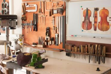 Mes anciens établis de luthier