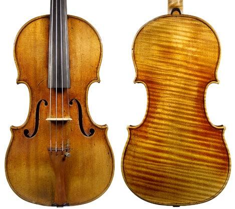 """Le violon """"Vieuxtemps"""" - les violons les plus chers"""