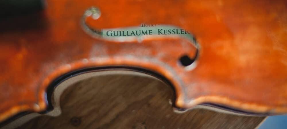 Pourquoi commander un violon de luthier