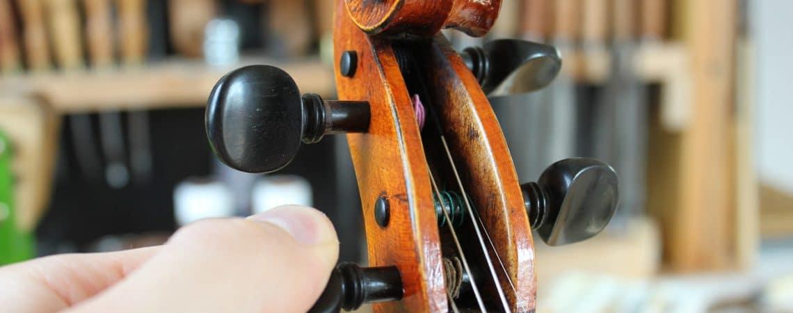 accorder son violon, alto ou violoncelle