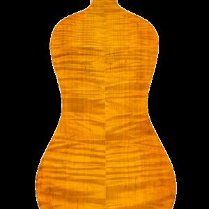 Fond de viole d'amour, modèle Storioni 2015