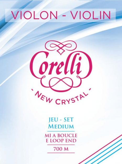 Jeu de cordes Corelli New Crystal pour violon medium