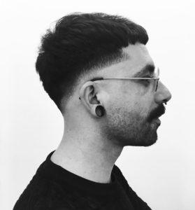 Grégory Alcudia, coiffeur et photographe à Strasbourg