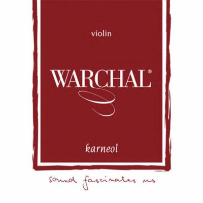 Jeu de cordes Warchal Karneol pour violon