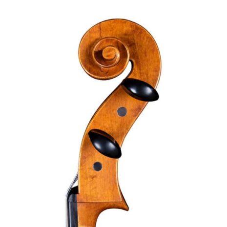 Violoncelle Passion-Tradition Mirecourt volute