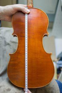 Comment mesurer son violon grâce à la longueur de caisse