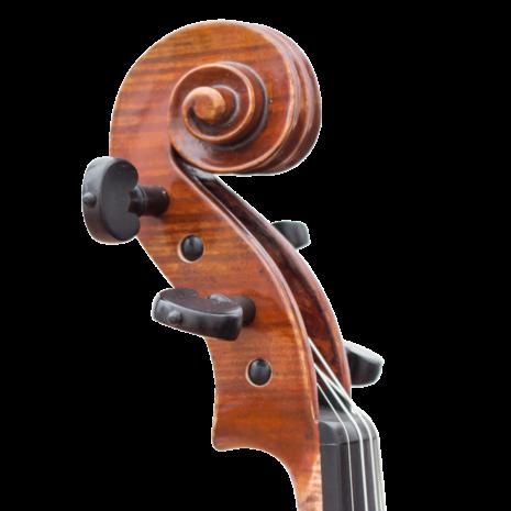 Violon Passion Tradition Kaiming Guan KMG modèle Guarneri 1743 Il Cannone volute