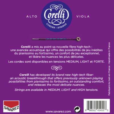 Cordes Corelli Cantiga pour alto, recto