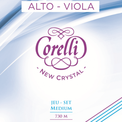 Cordes Corelli New Crystal pour alto, tension moyenne