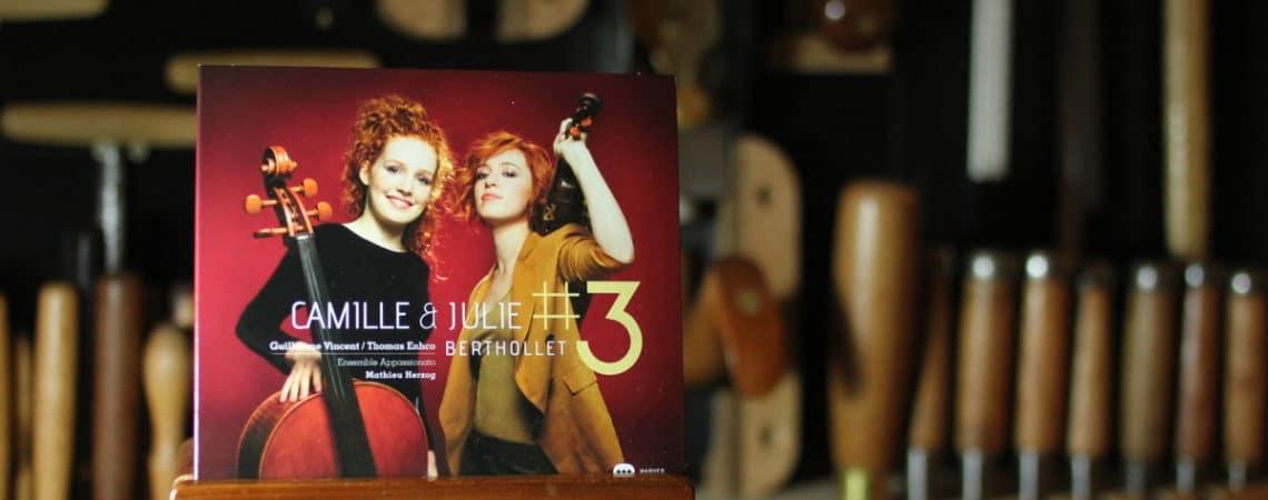 #3, l'album de Julie et Camille Berthollet
