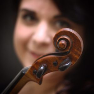 La violoniste et blogueuse italienne Olivia Steindler
