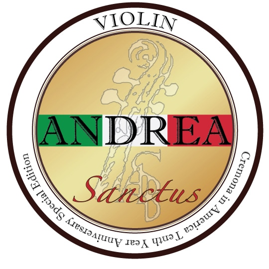 colophane andrea sanctus pour violon