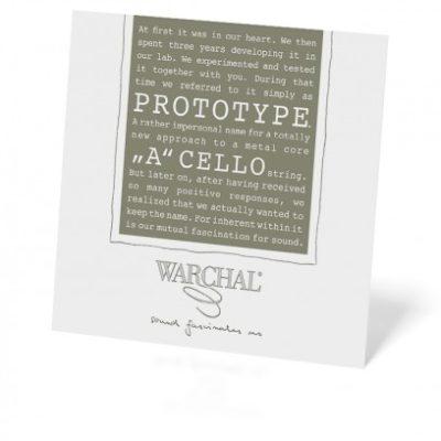 warchal la prototype pour violoncelle pochette