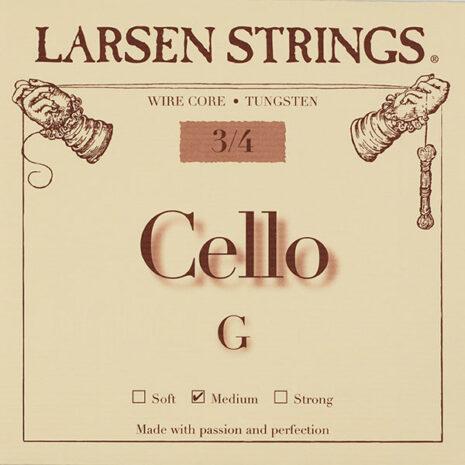 larsen originale pour petit violoncelle sol moyen