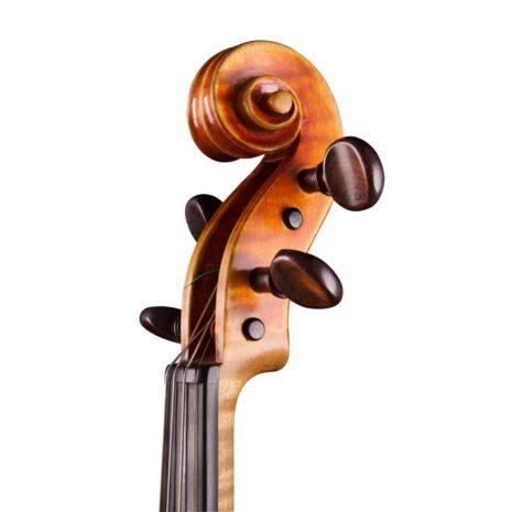 violon par thierry ligier au millésime de 1997 volute trois quart
