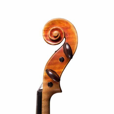 violon par thierry ligier au millésime de 1997 volute face