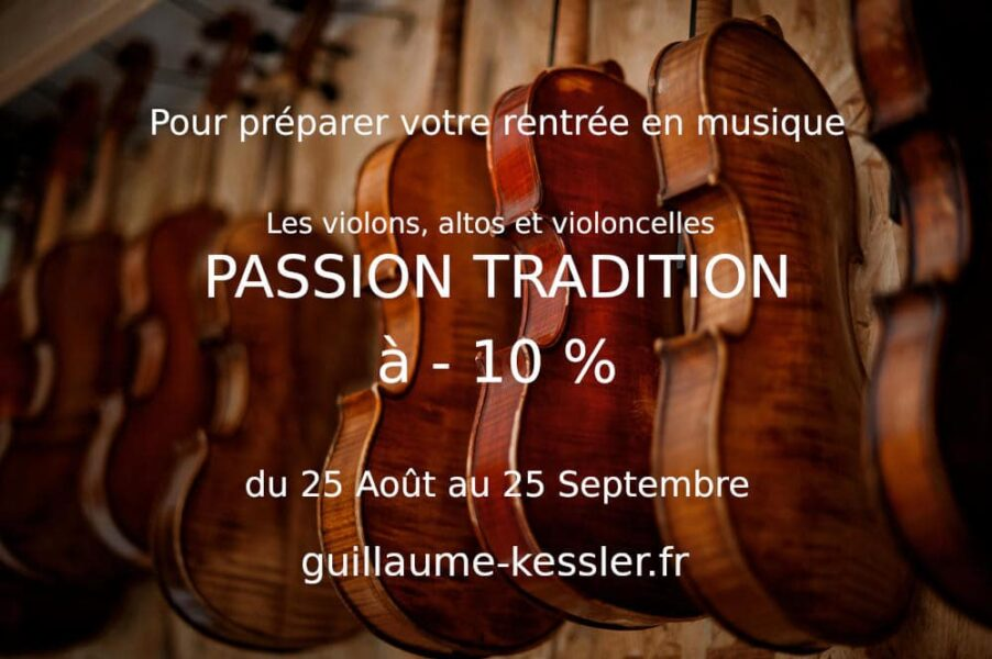 Les instruments Passion Tradition en promotion !