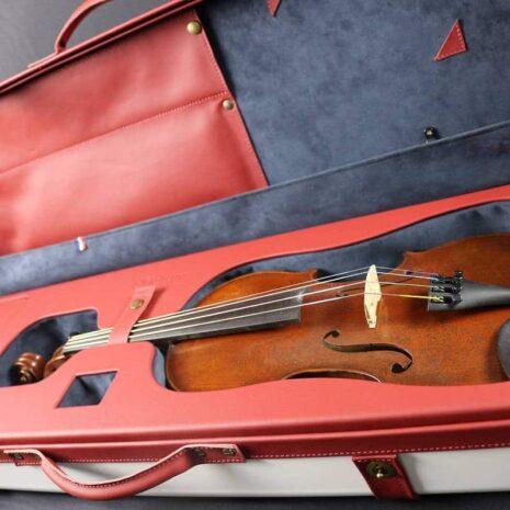 Étui l'Hélium fabriqué en Alsace violon