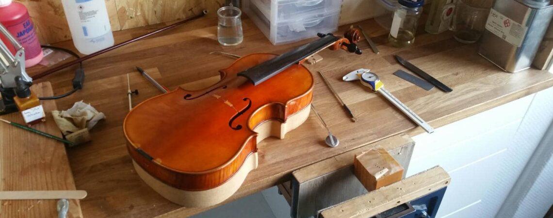 Le chevalet et l'âme du violon