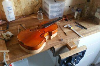 Comprendre le montage d'un violon