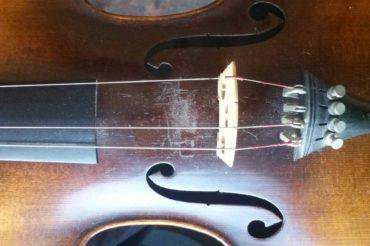 Guide du montage de corde pour violon