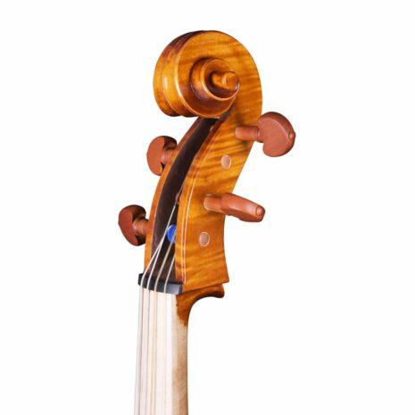 Violoncelle Baroque Passion Tradition Mirecourt volute 34