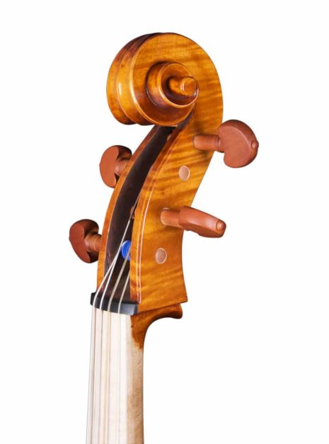 Violoncelle Baroque Passion Tradition Mirecourt volute 34