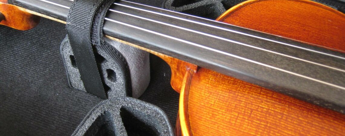 Bogaro et Clemente Nicole light pour violon - Sangle manche