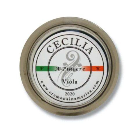 Logo de la colophane Cecilia A piacere pour alto