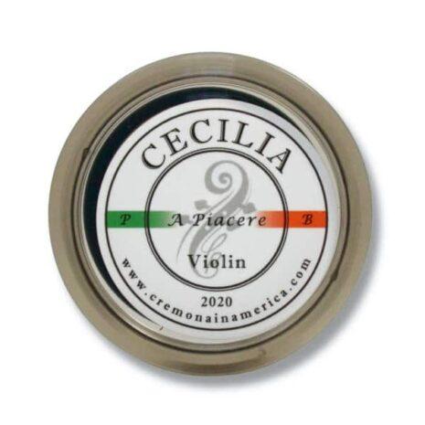 Logo de la colophane Cecilia A piacere pour violon