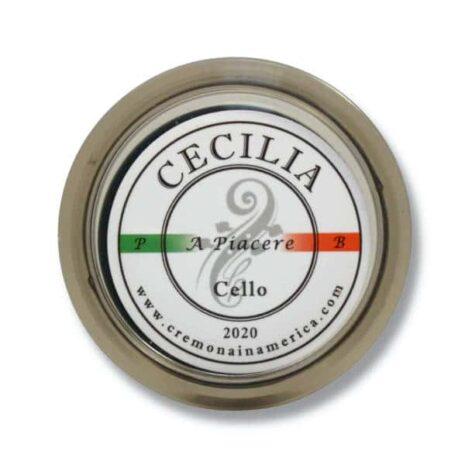 Logo de la colophane Cecilia A piacere pour violoncelle