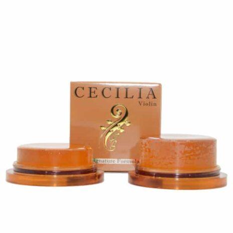 Comparaison de la colophane Cecilia Signature pour violon