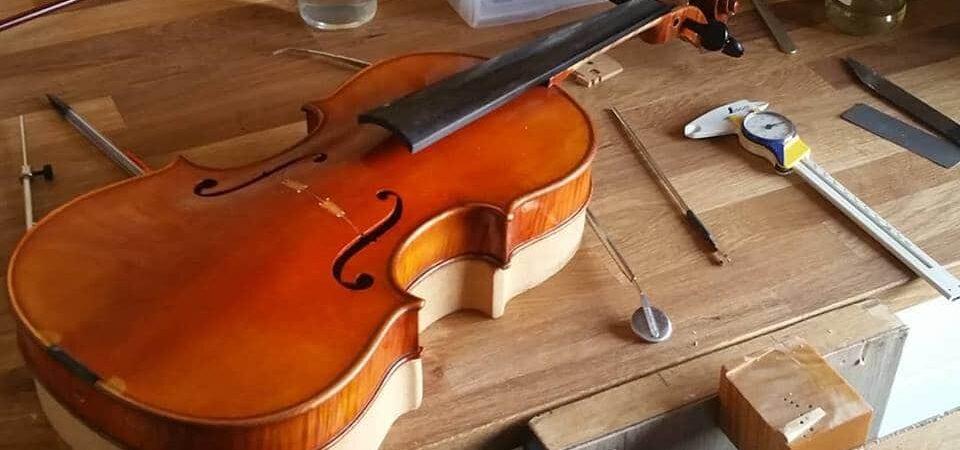 Stage pour découvrir la lutherie et le montage d'un violon