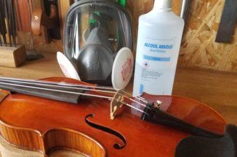 Comment désinfecter son violon