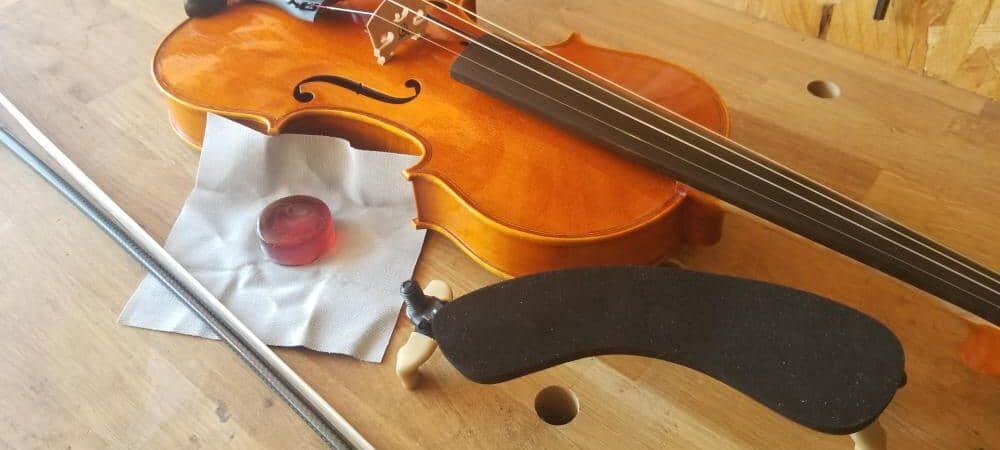 Louer un alto chez un luthier