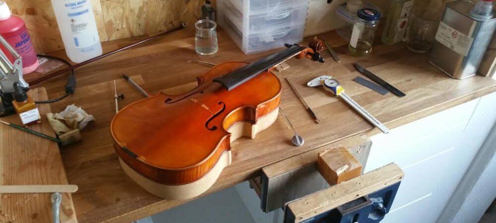 Louer un alto de luthier