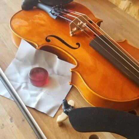 Louer un violon dans un atelier de lutherie