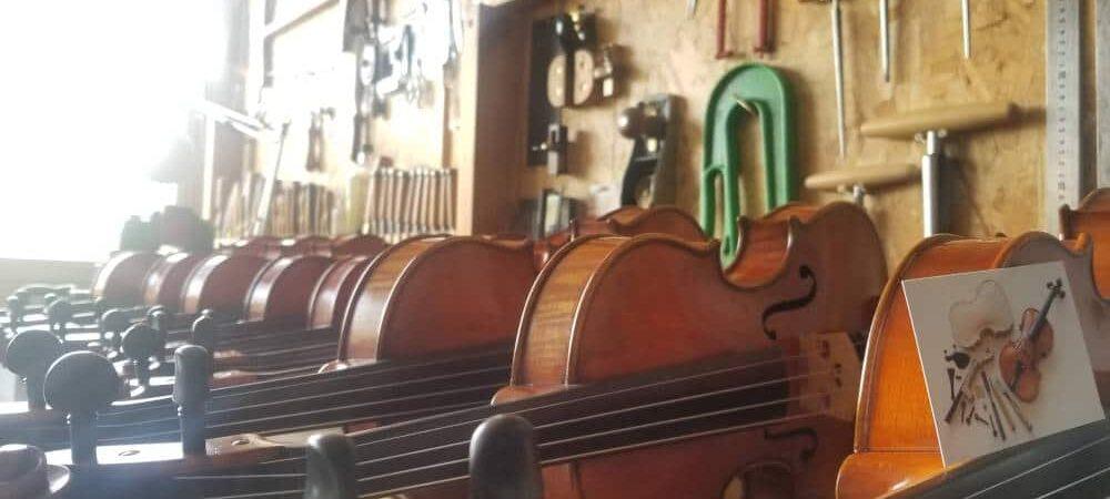 Louer un violon pour débuter chez un luthier