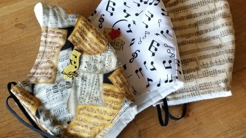 Masques musicaux de protection