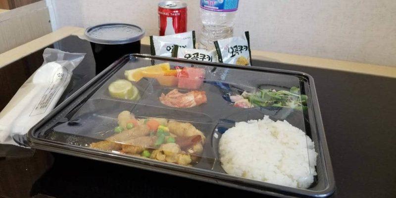 Les repas de la quarantaine en Corée 1