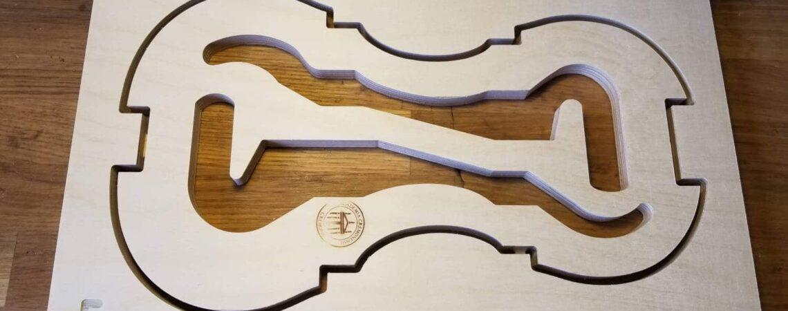 Moule et gabarits de violon italien