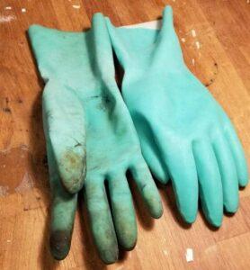 Les gants du luthier