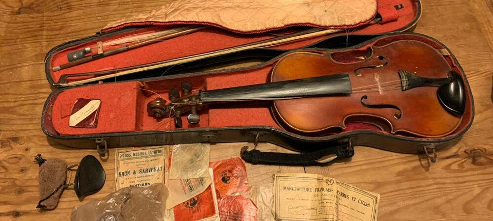 Comment photographier son violon et son archet