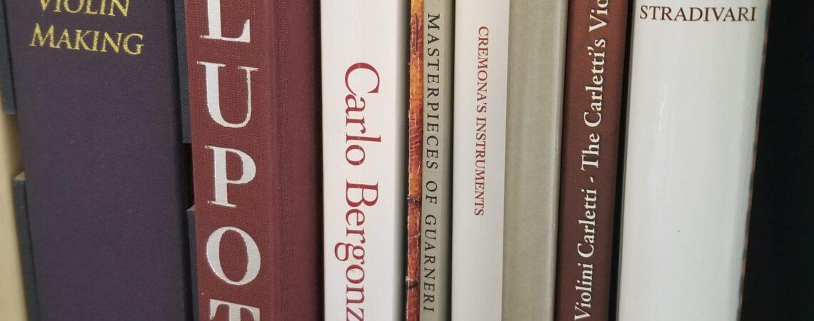 Les livres sur la lutherie du violon