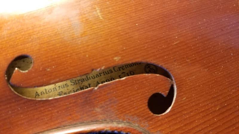 L'étiquette des Stradivarius les moins chers au monde