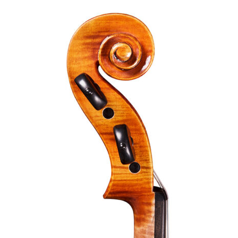 Violon gaucher Passion-Tradition Maître profil volute