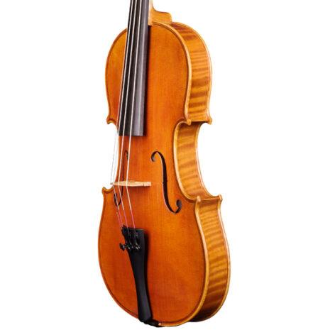Violon gaucher Passion-Tradition Mirecourt trois quart carré