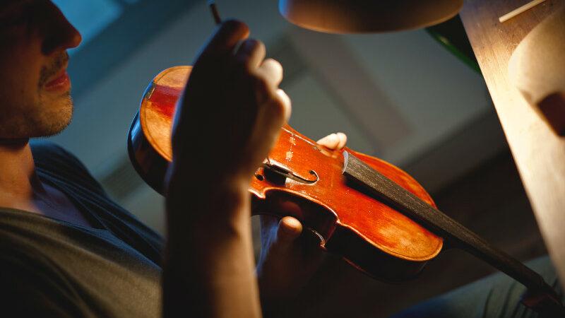 Entretien du violon